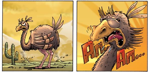 Еще один комикс,который мы как-то рисовали в свое время при очередной вспышке эпидемии гриппа. Как раз в то время бы .... - Изображение 1