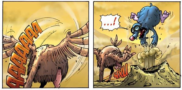 Еще один комикс,который мы как-то рисовали в свое время при очередной вспышке эпидемии гриппа. Как раз в то время бы .... - Изображение 2