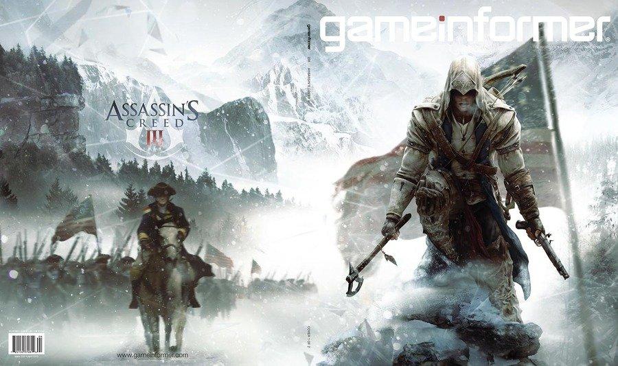 Опубликованы обложки журнала GameInformer.Похоже действия игры будут проходить во время Американской революции (1775 .... - Изображение 1