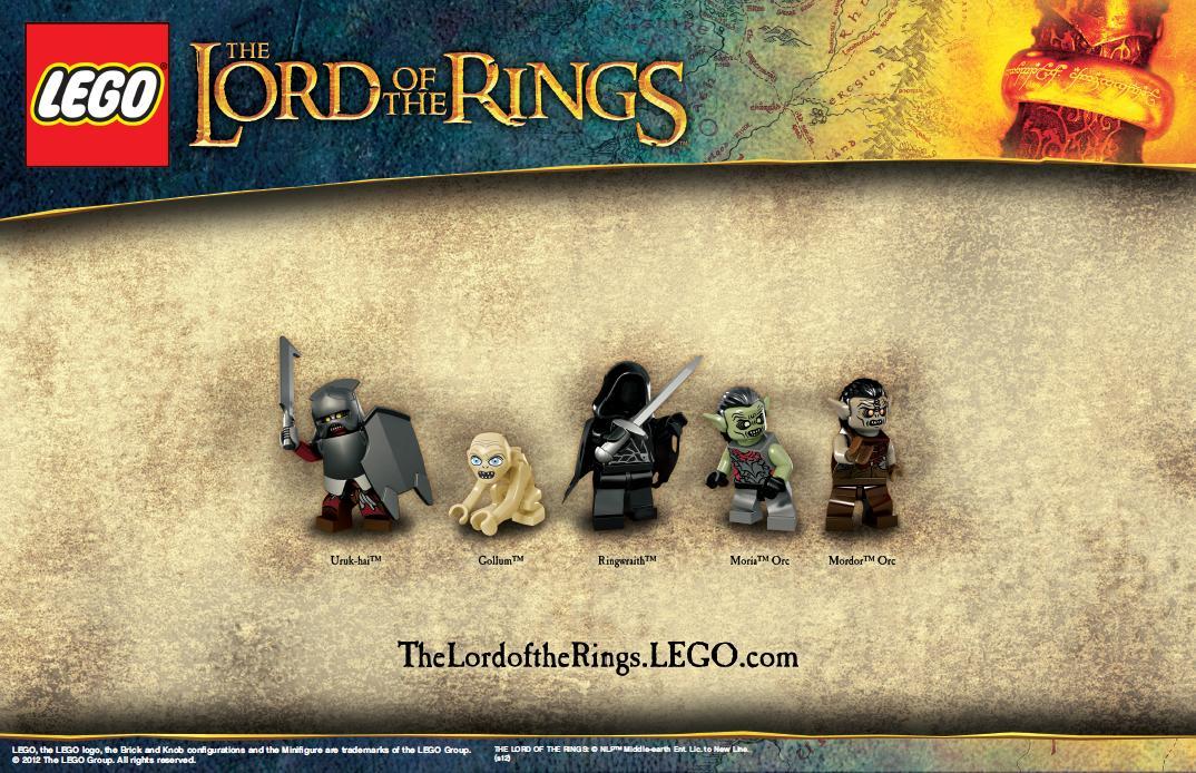 Компании Lego и Warner Bros. обнародовали фотокадры с изображением новой серии конструктора, посвященной кинотрилоги .... - Изображение 2