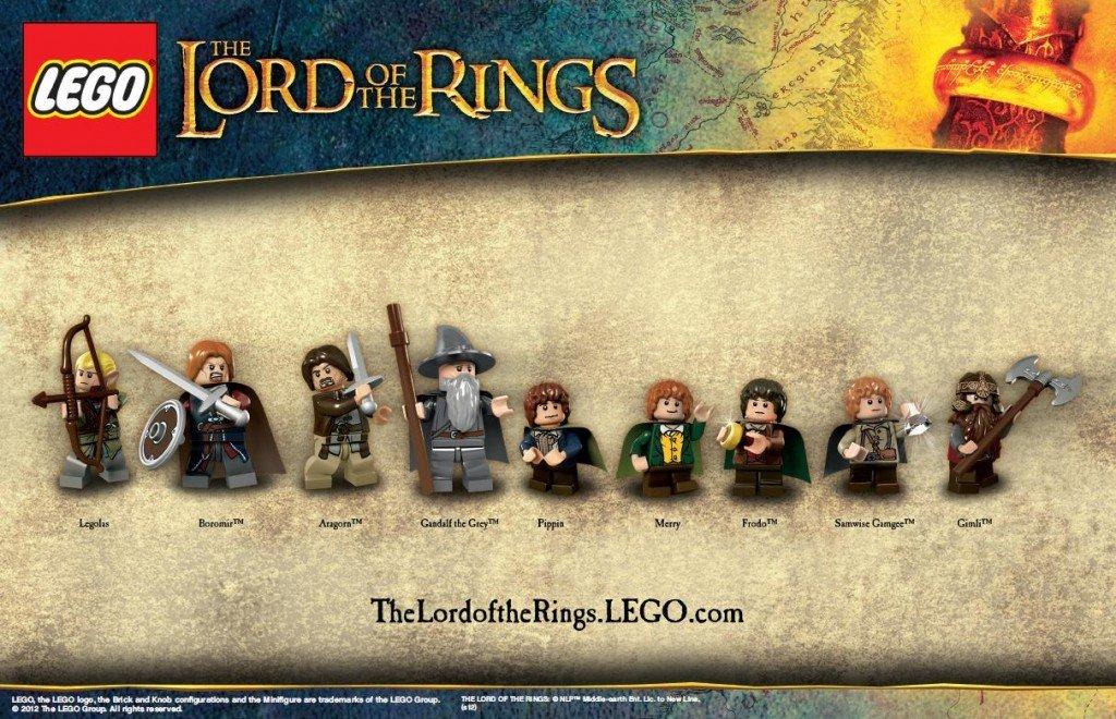 Компании Lego и Warner Bros. обнародовали фотокадры с изображением новой серии конструктора, посвященной кинотрилоги .... - Изображение 1