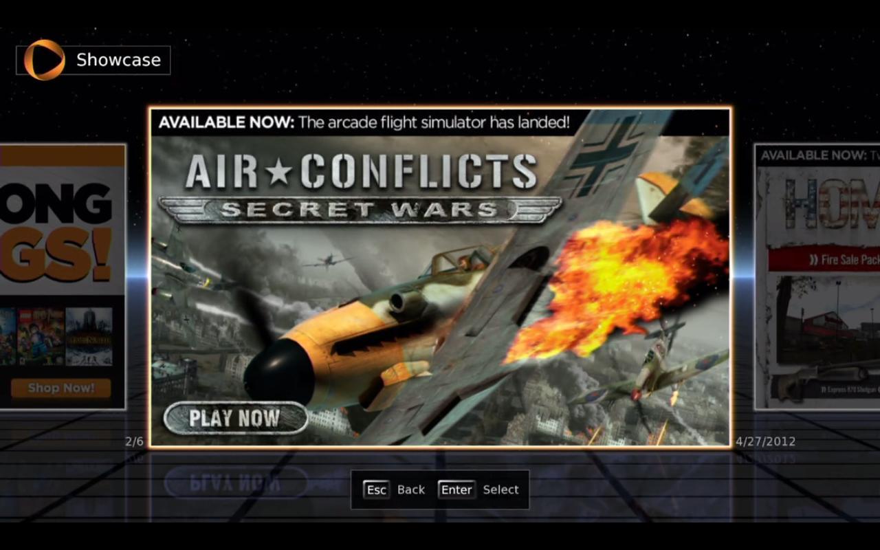 Прикольно, на OnLive запустили новую игру. Про военную авиацию, с мультиплеером и одиночными миссиями, по телеку к 9 .... - Изображение 1