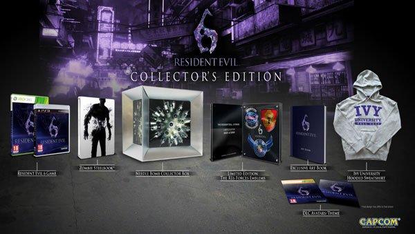 Компания Capcom анонсировала коллекционное издание хоррор-экшена Resident Evil 6, которое будет включать в себя след .... - Изображение 1