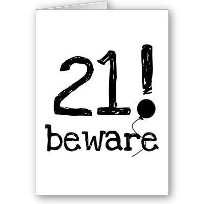 Число 21 играет мистическую роль в жизни человека. Чиновники всех стран обожают это число, до 21 года ограничивая до .... - Изображение 1
