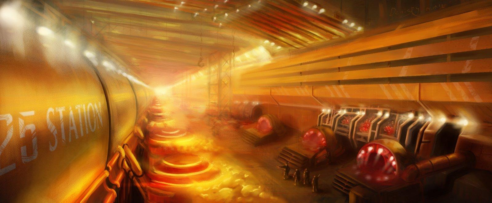 Одна из перевалочных баз Легиона Дара - станция 25. На ней обычно происходят реорганизация войск и получение новой т .... - Изображение 1