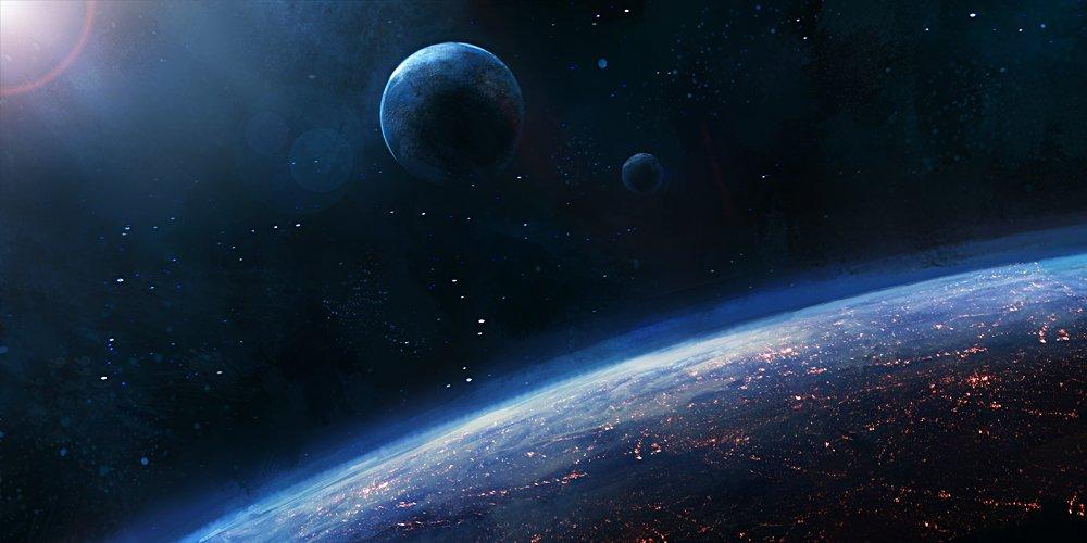 """Будет коротко.       Космос так космос.   А расскажу я вам о маленькой и гордой расе, живущей там куда нам """"человека .... - Изображение 1"""