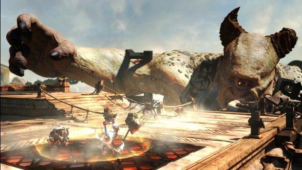 «God of War: Восхождение»               Бета-тест мультиплеера  «День 1»  Скачивал 15 минут игру, а потом появилось  .... - Изображение 3