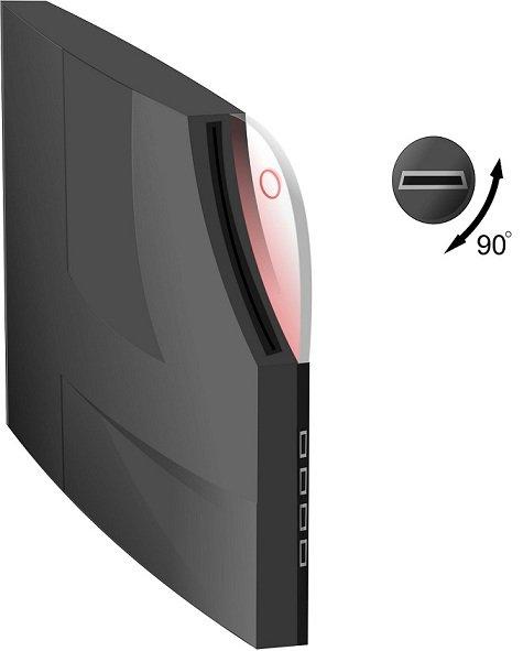 Ну чтож. Попробую пофантазировать на тему дизайна PS4 и объяснить, почему так , а не иначе.  Итак. Перед вами моё ви .... - Изображение 1