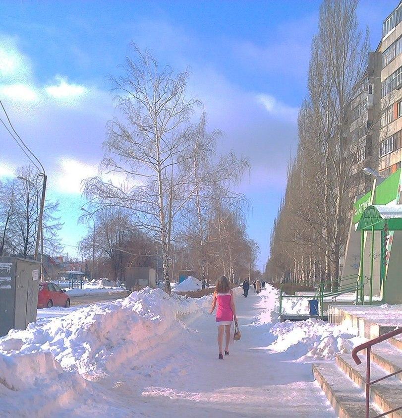 """Это у нас в городе...""""Зима?! Не , не слышала...""""  . - Изображение 1"""