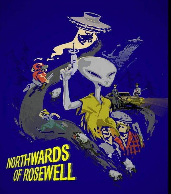 Northwards of Roswell: уфологический адвенчур-сим с элементами генетических манипуляций. - Изображение 1