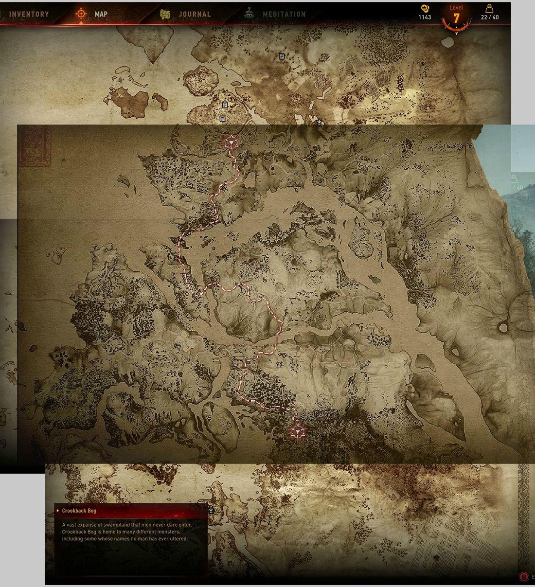 Карта мира The Witcher 3: Wild Hunt «Ведьмак 3: Дикая охота». - Изображение 2