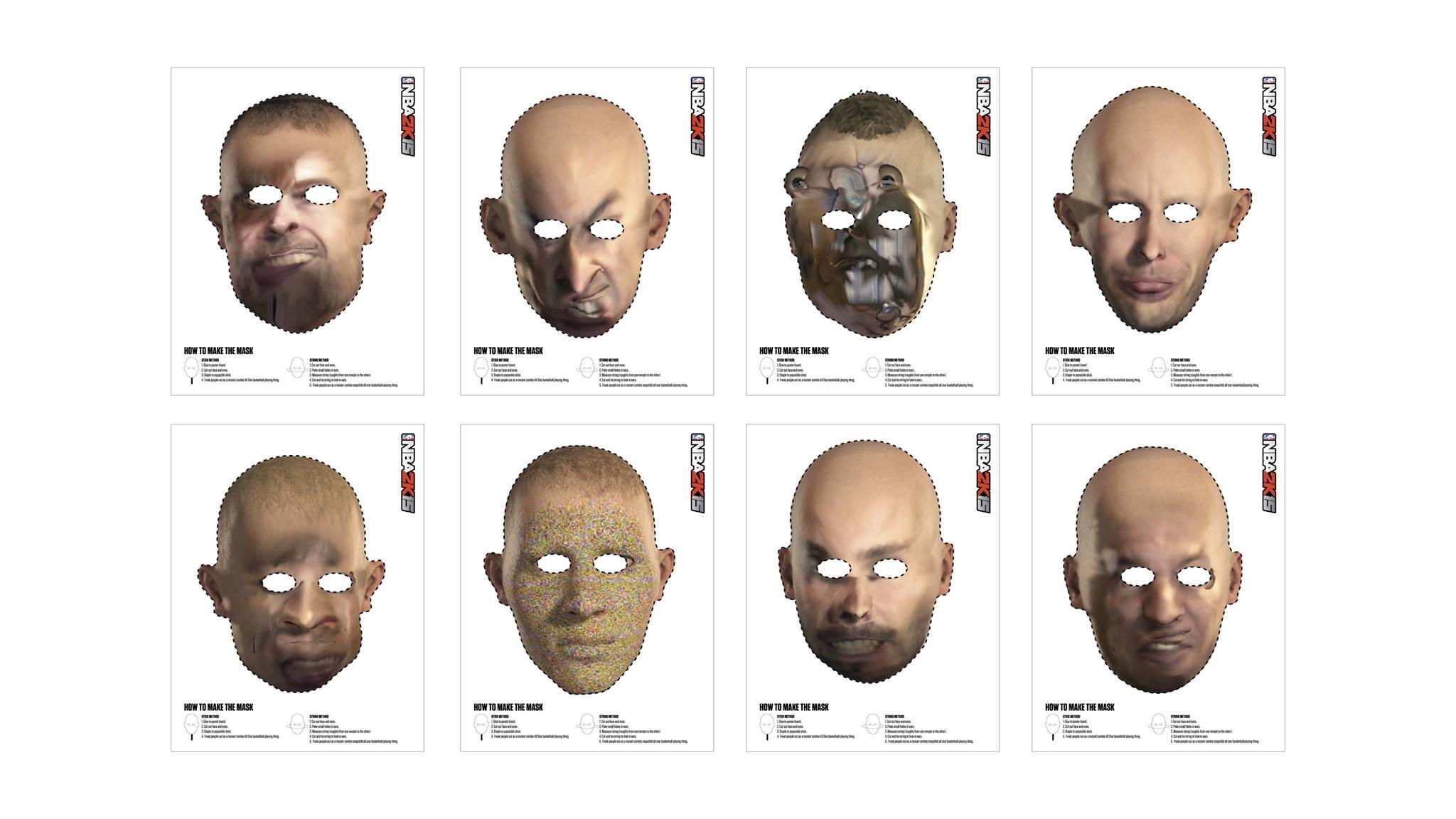 NBA 2K15: Лучшие хэллоуинские маски!. - Изображение 1