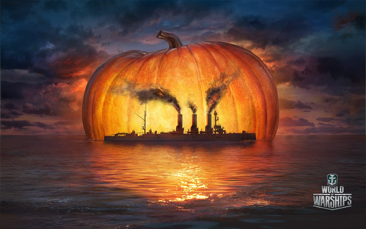 Хеллоуин в морском стиле. - Изображение 3
