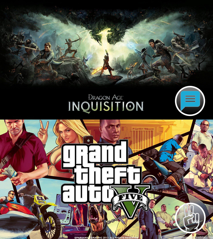 Пост ожидания: GTA 5 vs Dragon Age: Inquisition (Лайкаем Тревора, Коментим Морриган;). - Изображение 1