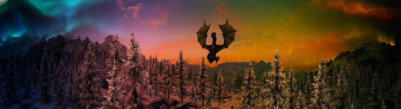 Обои по The Elder Scrolls V Skyrim. - Изображение 1