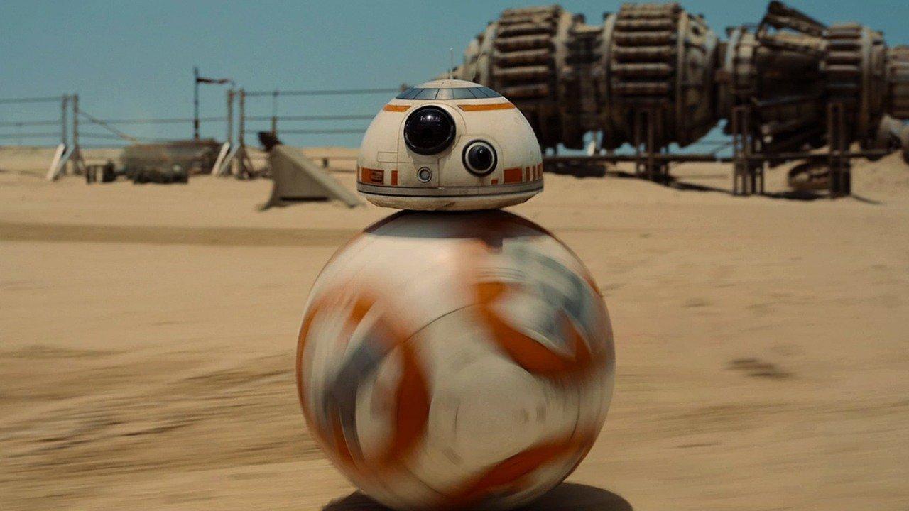Робот BB-8 в трейлере The Force Awakens — не CGI. - Изображение 1