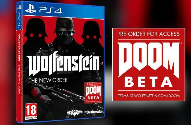 Предзаказал бету 4го DooM, получишь бесплатно Wolfenstein: the New Order в подарок. :D  . - Изображение 1