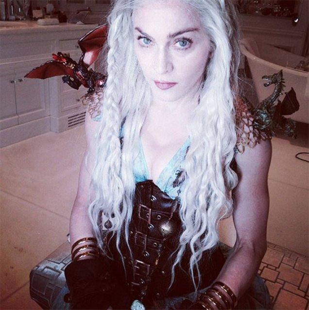 Мадонна закосплеила Дейнерис Таргариен. - Изображение 1