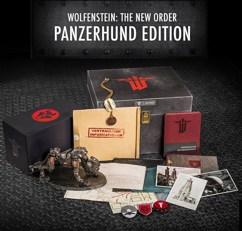 Коллекционное издание Wolfenstein: The New Order за $100. - Изображение 1