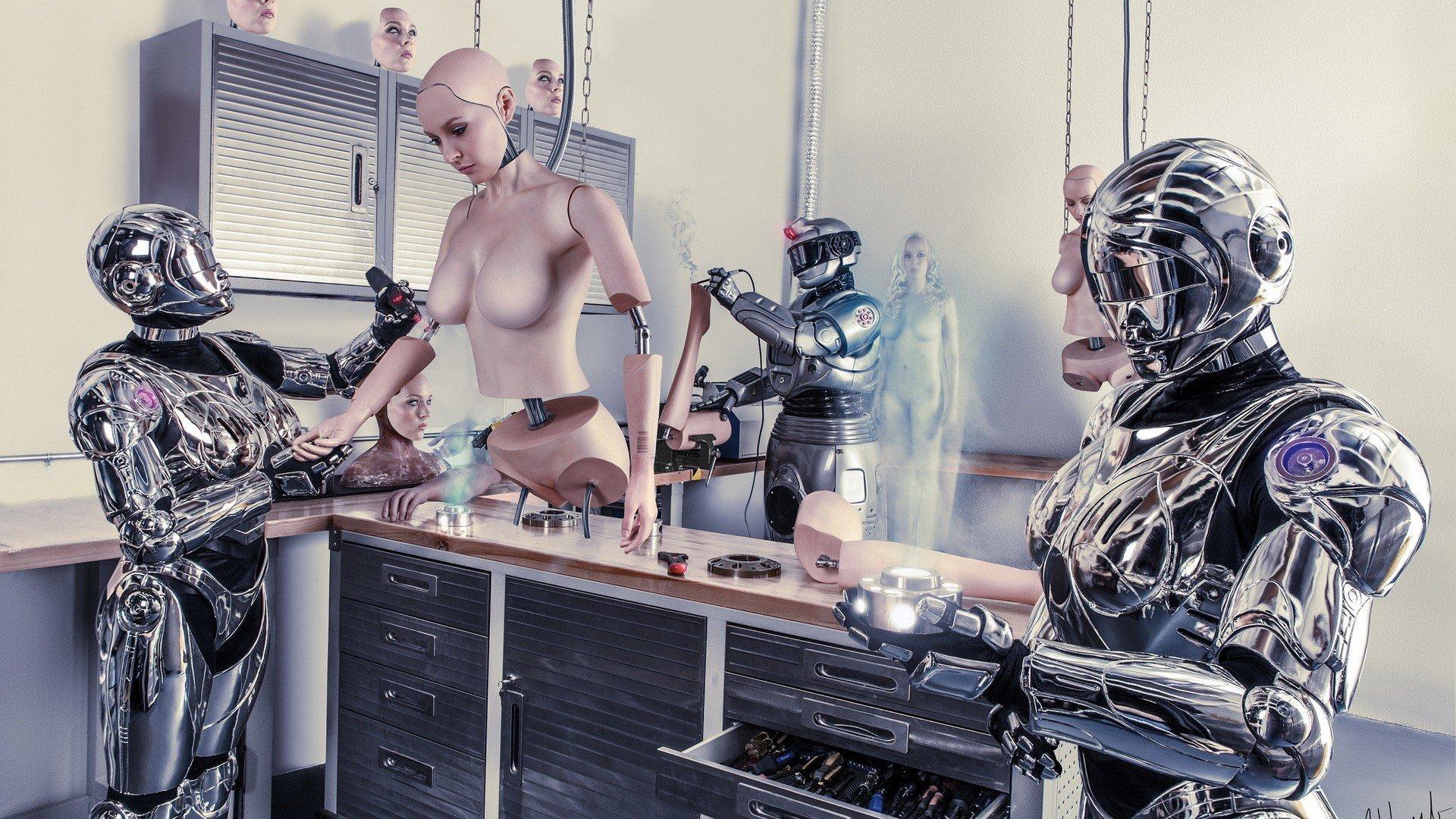 Роботы будущего кино порно 9