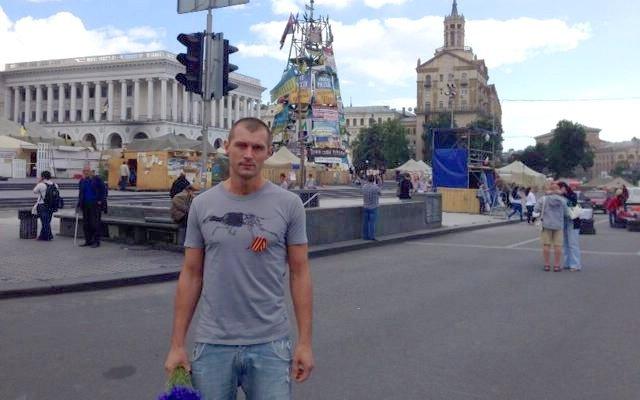 Создатель компьютерной игры STALKER прогулялся Майданом с георгиевской лентой. - Изображение 1