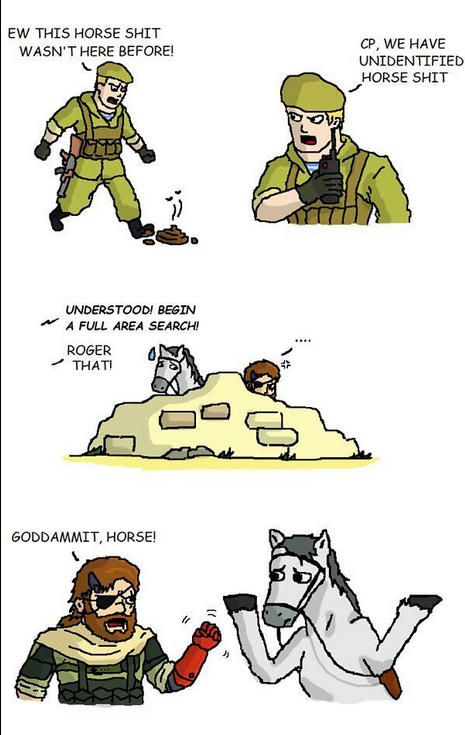 Metal Gear Horse. - Изображение 1