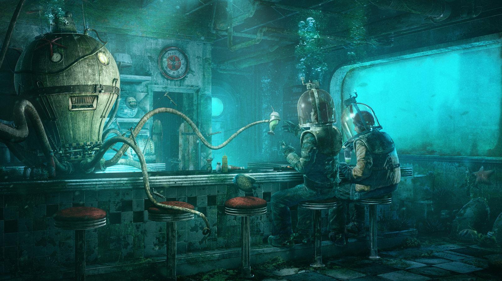 Десять подводных игр. - Изображение 1
