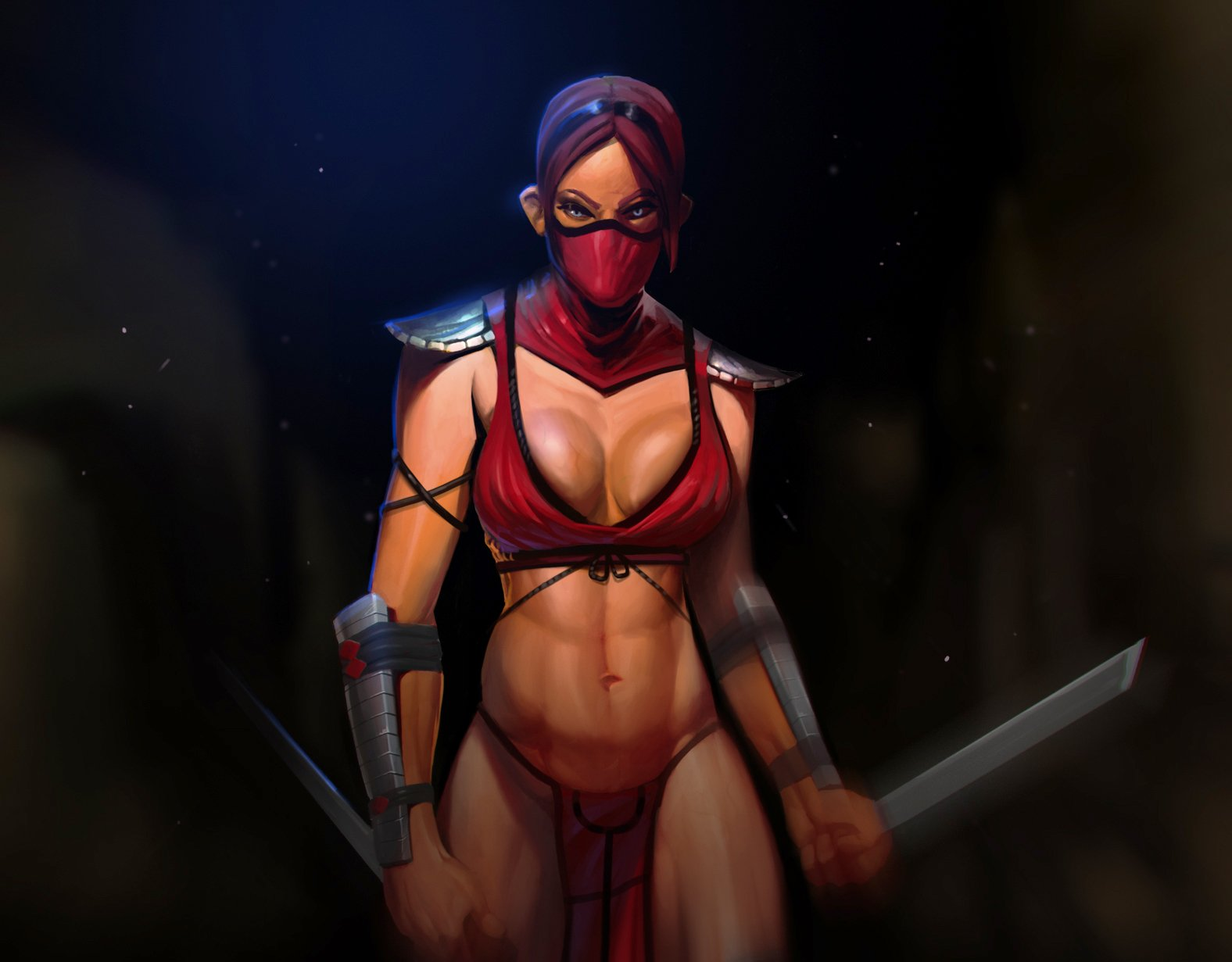 Digital nude female warriors nsfw clip