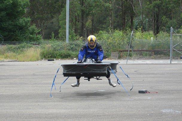 Австралиец собирает деньги на создание «летающего мотоцикла». - Изображение 5
