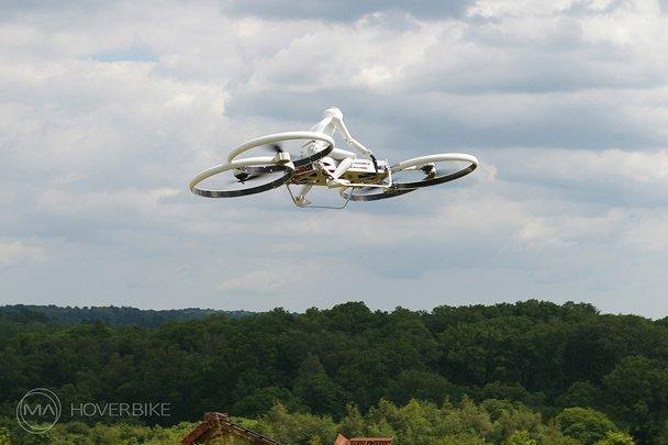 Австралиец собирает деньги на создание «летающего мотоцикла». - Изображение 1