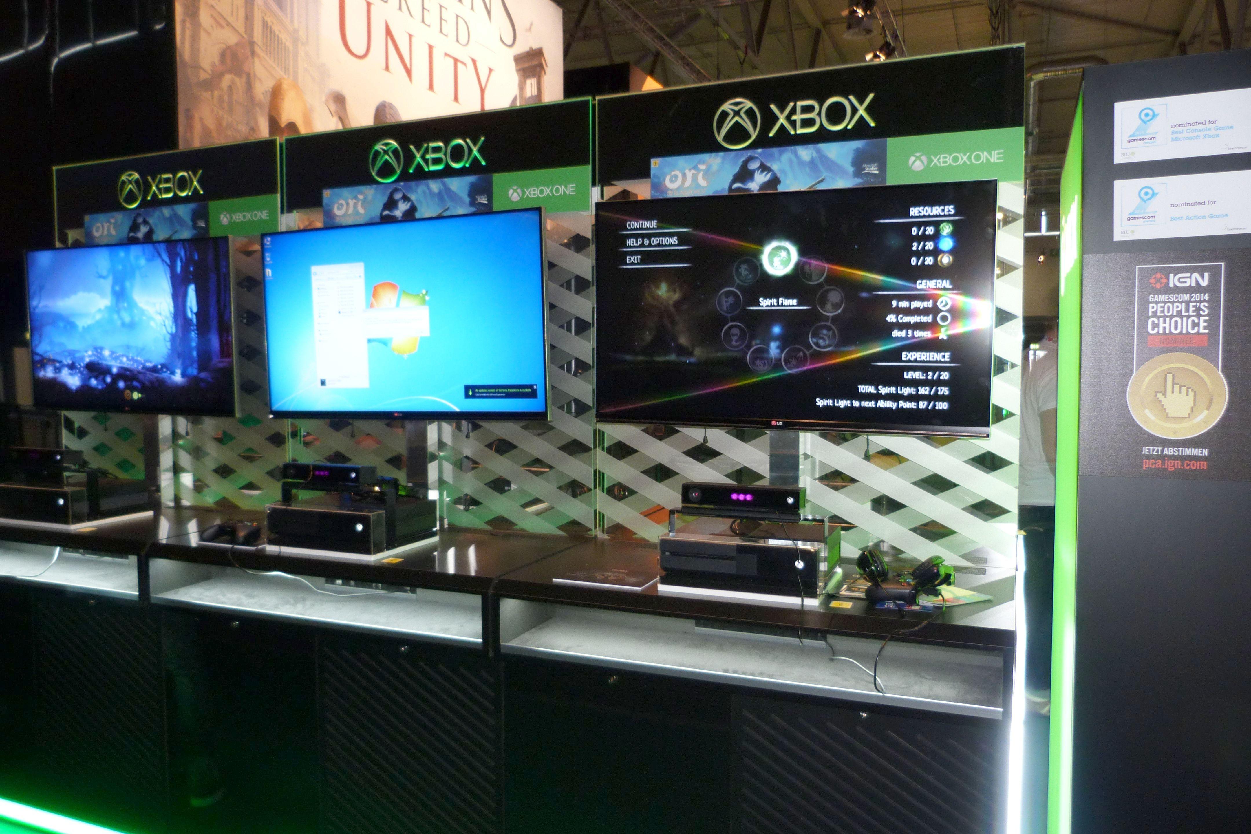 На Gamescom Mirosoft замаскировали несколько PC для демонстрации игр Xbox One.. - Изображение 1