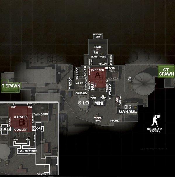 Карты из CS:GO  . - Изображение 2