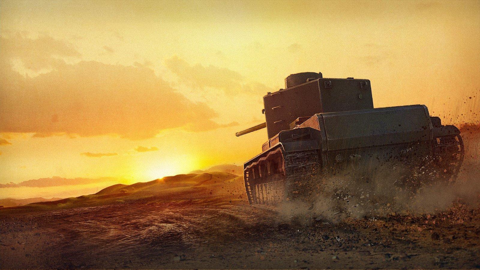 КВ-5 снова в World Of Tanks, но только Blitz . - Изображение 1