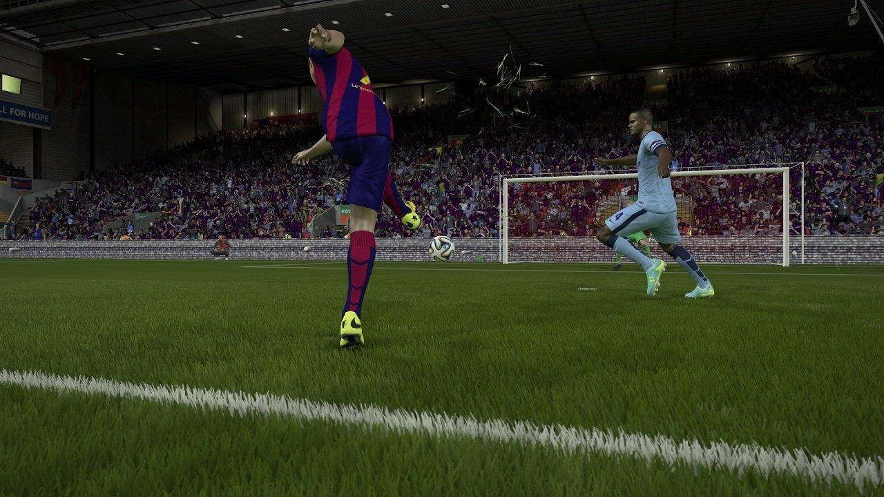 Я не такая какой была вчера.  Я FIFA 15 (обзор-анализ демо). - Изображение 11