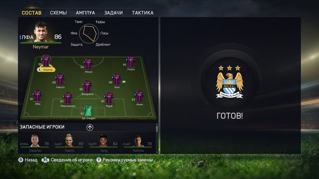 Я не такая какой была вчера.  Я FIFA 15 (обзор-анализ демо). - Изображение 8