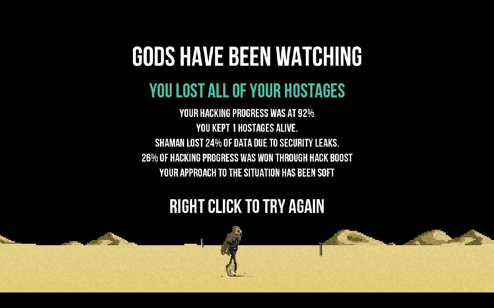 Метод проб и рестартов. Рецензия на Gods will be watching. - Изображение 6