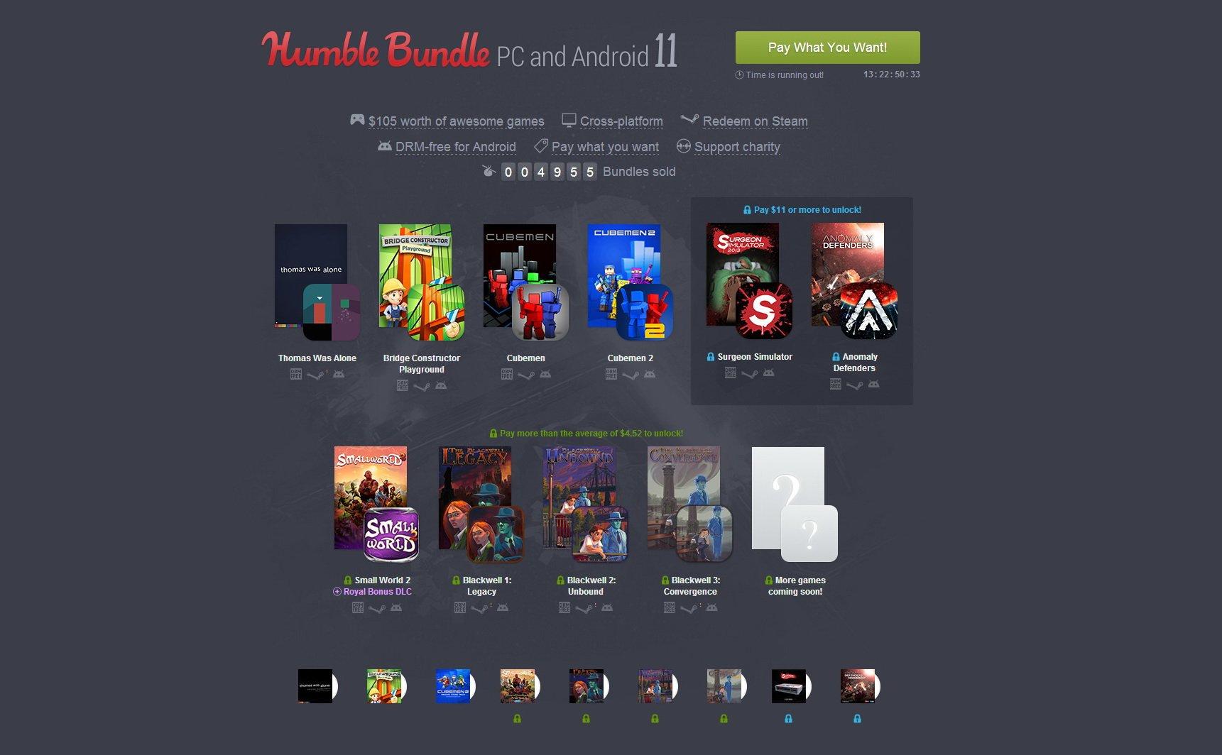 Новый Humble Bundle . - Изображение 1