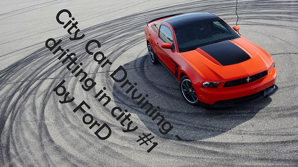 [ City Car Driving 1.4.0 ] drifting BMW M3 E36, BMW M5 E39, Ford Mustang [ drift ] Logitech G27 . - Изображение 1