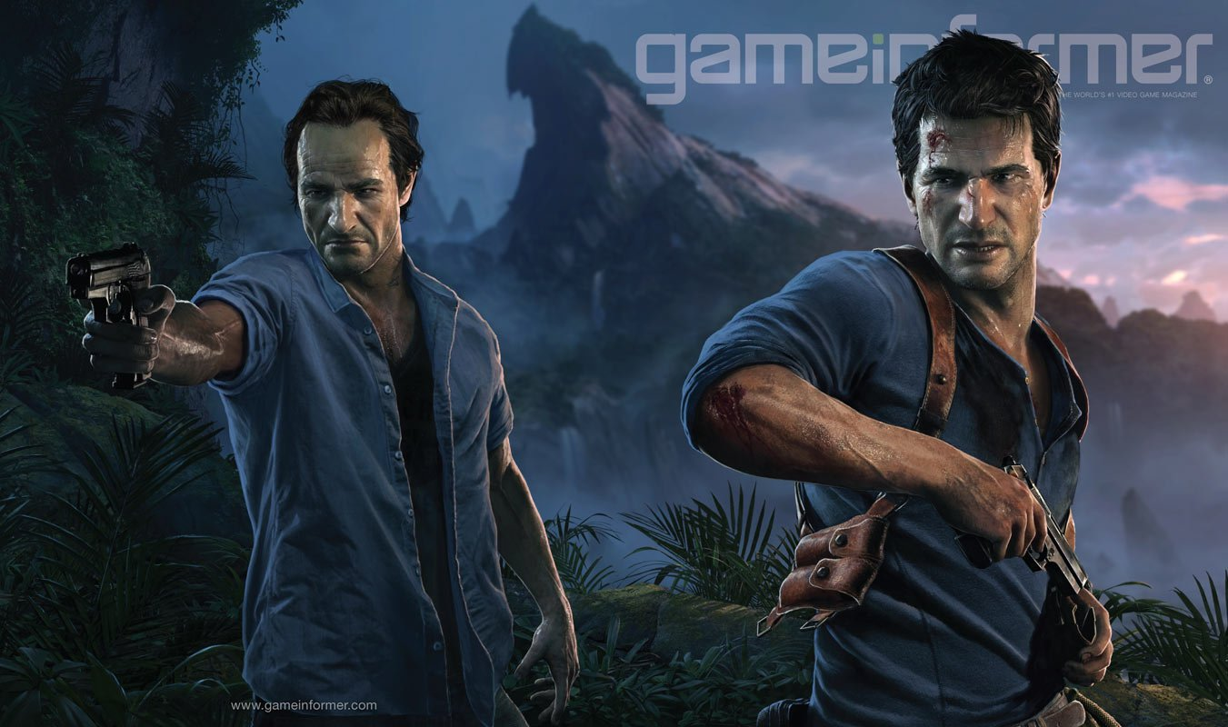 Uncharted 4: A Thief's End на обложке Game Informer. - Изображение 1