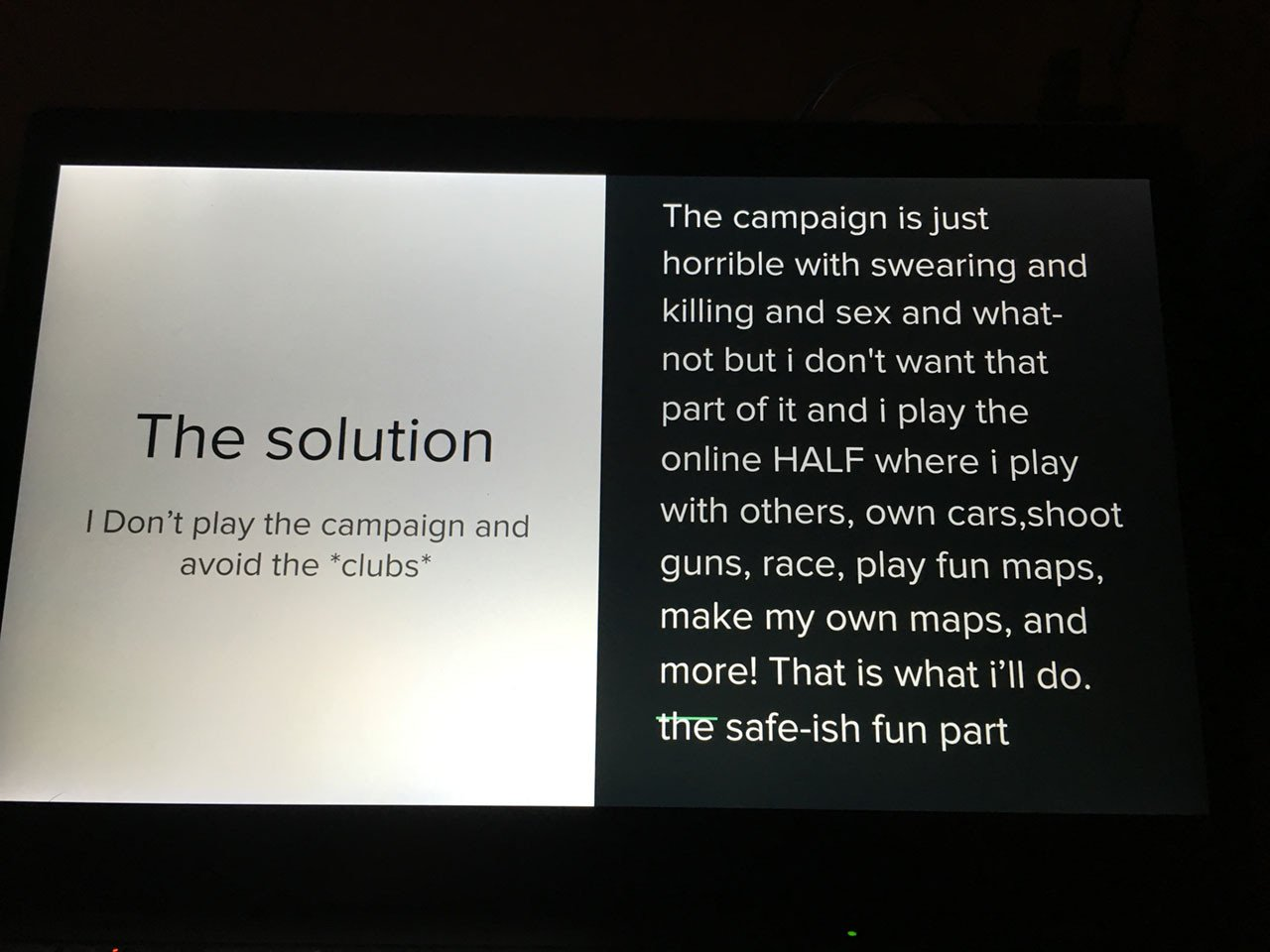 13-летний мальчик убедил родителей купить ему GTA V с помощью презентации в PowerPoint. - Изображение 3