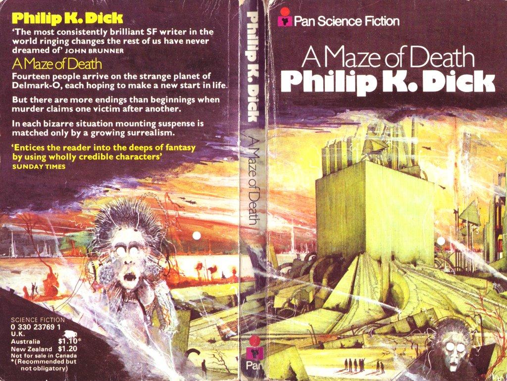 Религиозная фантастика Филипа Дика «Лабиринт смерти» . - Изображение 2