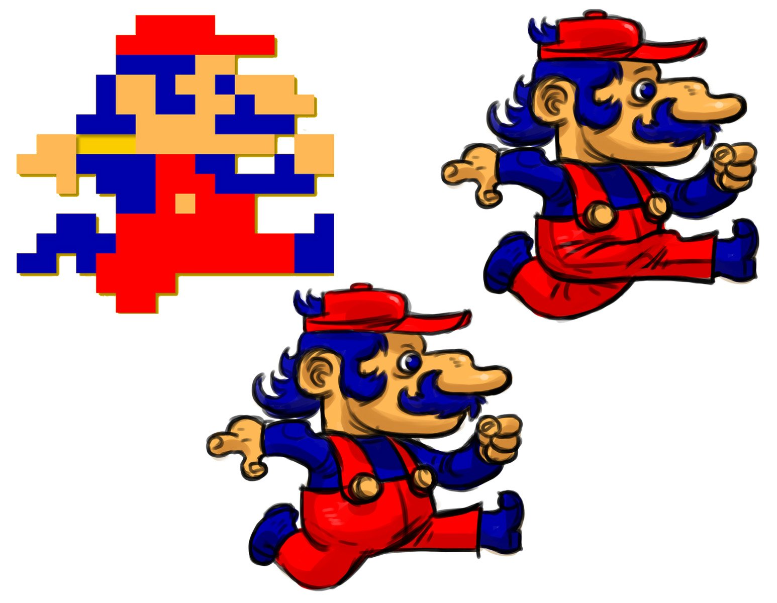 Небольшой арт по Марио. - Изображение 1