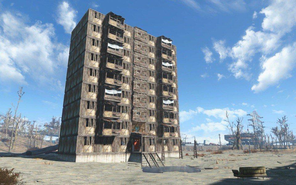 Fallout  Glass Windows In Sanctuary