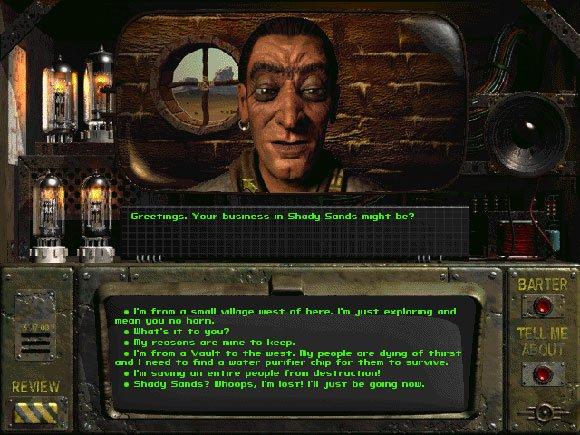 Немного по заезженному. Fallout . - Изображение 1