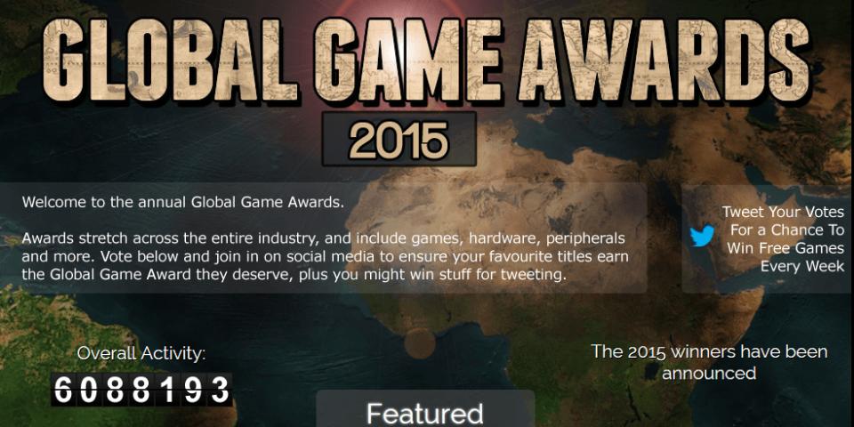 Итоги Global Game Awards 2015. - Изображение 1