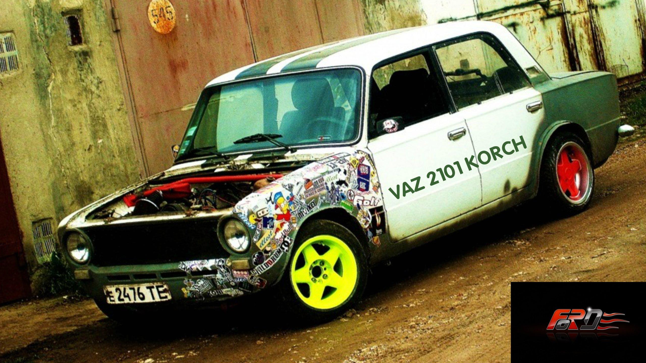 """ВАЗ 2101 """"Копейка"""" (VAZ 2101) корч тест-драйв, обзор, дрифт (DRIFT) зима в City Car Driving . - Изображение 1"""