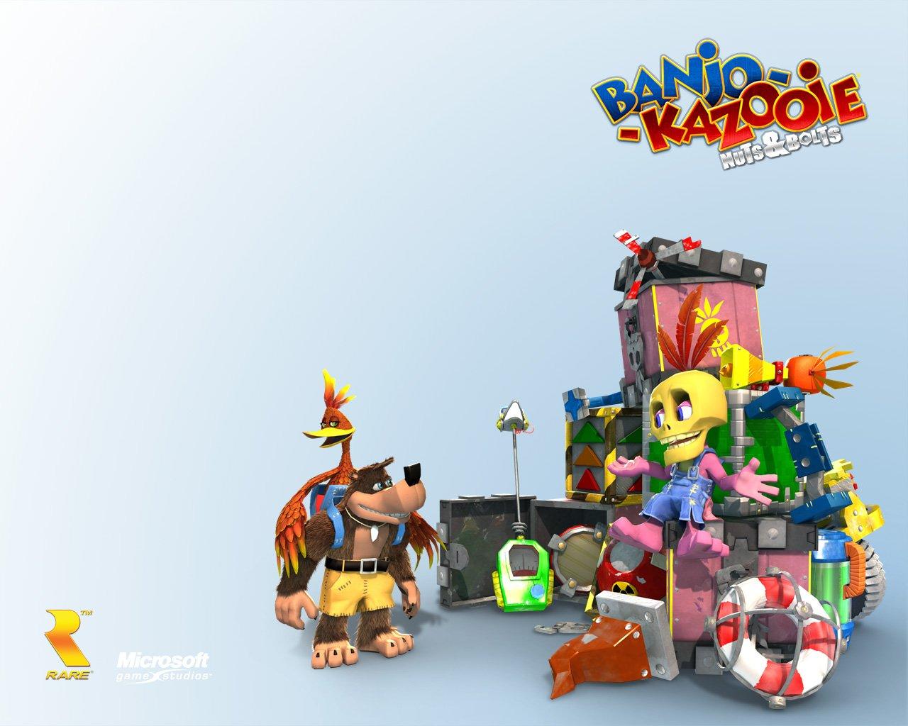 Ветераны Rare объявили о разработке духовного наследника Banjo-Kazooie . - Изображение 2