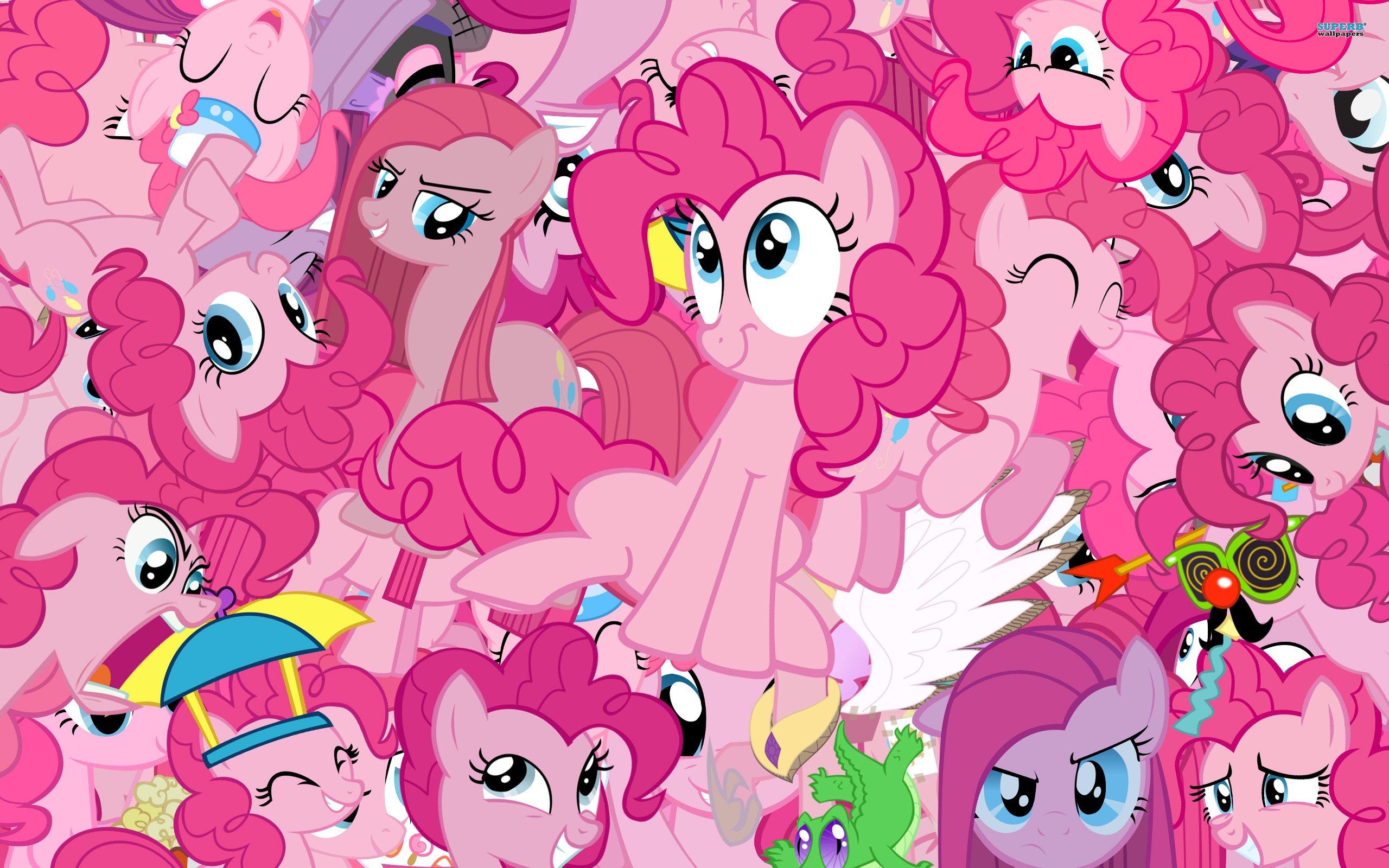 C днем рождения надоедливое розовое создание ! Поздравим Pinkie Pie с днюхой !. - Изображение 1