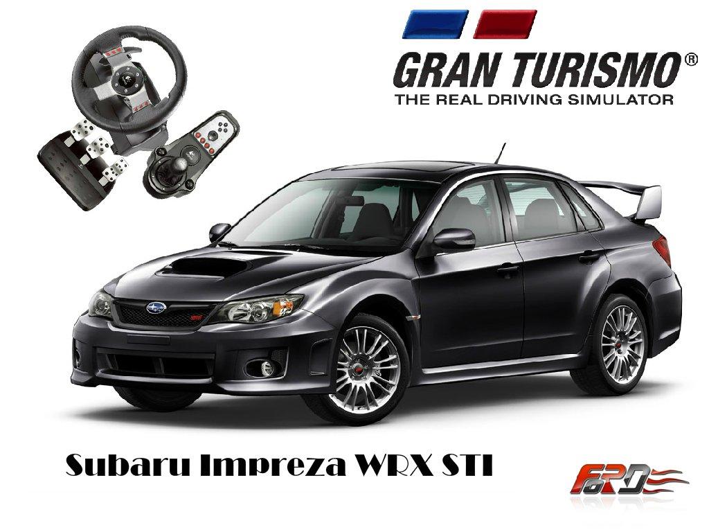 [ Gran Turismo 6 Logitech G27 ] тест-драйв автомобилей Subaru Impreza WRX STI и Lancer Evolution X . - Изображение 1