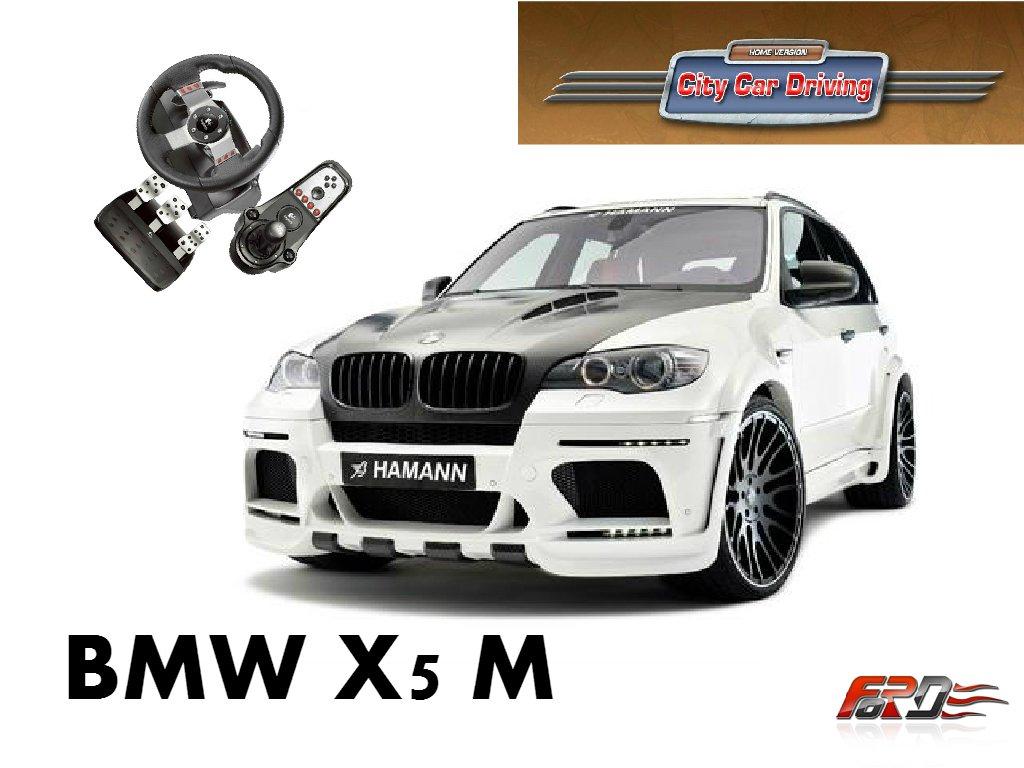 [ City Car Driving ] BMW X5 M и Subaru Forester - обзор, тест-драйв автомобилей кроссоверов . - Изображение 1